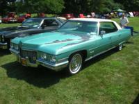 1971 Cadillac Sedan Deville 52,000 original miles MINT
