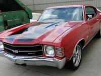 This is one red hot Chevelle that really rumbles! It