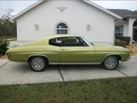 1971 chevelle malibu with 25,000 initial miles. a