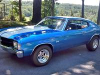 1971 Chevelle SS clone new edelbrock high performance