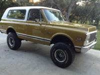 1971 Chevy Blazer CST, restored, very clean. Small