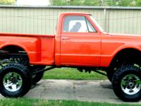 Here is a VERY rare 1971 Chevy C-10 Swb Step Side 4x4