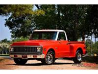 This 1971 Chevrolet C10 Cheyenne Truck . It is equipped
