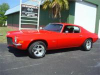 1971 Chevrolet Camaro,built 350,auto,power disc,power
