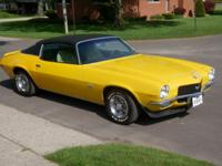 1971 Chevrolet Camaro SS 350 V8 3-Speed Automatic with
