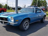 1971 Chevrolet Camaro Z28 Blue ONE OF 3 KNOWN TO EXIST