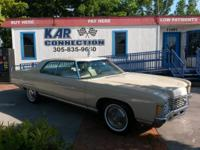 "1971 CHEVROLET CAPRICE 400Ci 4DR HARDTOP ""NO POST"" ONE"