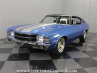 Here's the bottom line on this 1971 Chevelle: it's a