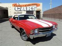 1971 Chevrolet Chevelle SS396 Convertible - 396 (402)