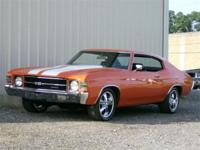 Just in is the very nice recently repainted Chevelle