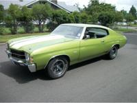 "1971 Chevrolet Chevelle SS ""Tribute"", very nice lime"