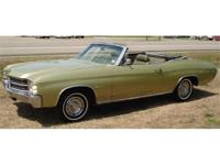 1971 CHEVELLE CONVERTIBLE. . . . . . LIME GREEN . . . .