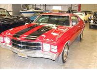You are looking at a 1971 Chevrolet Chevelle SS. A real
