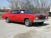 1971 CHEVROLET CHEVELLE MALIBU SS. THIS CHEVELLE HAS