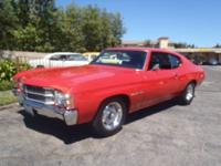 This is a great Classic 2 owner Chevelle with a strong