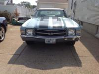 1971 Chevy chevelle ss I do not have the construct