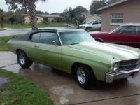1971 Chevelle 2 dr h/t 350/290Hp GM crate motor with