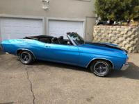 1971 Chevy chevelle convertible 350ci th350 automatic