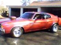 This Chevelle is Fully custom With many hours and