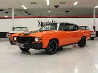 This 1971 Chevrolet Chevelle Malibu 2 Door Coupe (Stock
