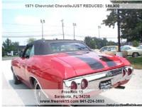 1971 Chevrolet Chevelle , Call for mileage