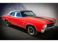 THIS 1971 CHEVY CHEVELLE HAS AL MATCHING NUMBERS MODEL