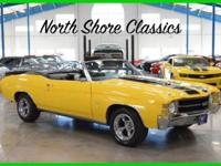 This 1971 Chevelle SS Convertible Tribute is an