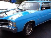 Here is your chance to own an Awesome Chevelle Super