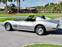 Our 71 Corvette is a gorgeous tribute car. Under the