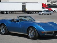 1971 Chevrolet Corvette 454 Roadster  Chassis