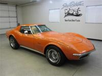 "1971 Chevy Corvette Coupe ""Ontario Orange"" w/ saddle"