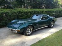 1971 Corvette LT-1 LT-1 includes a 350cu small block