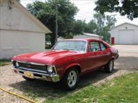 Super nice 1971 Chevy Nova 350 3/4 Race with automatic