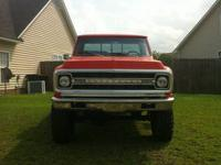 1971 Chevy C10 Pick-up Long Bed on a 1971 2500 frame.
