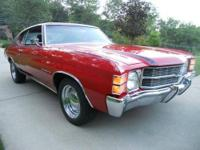 1971 Chevrolet Chevelle DESCRIPTION: In the family
