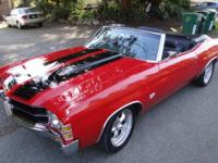 1971 Chevy Chevelle 454 SS Convertible for Sale