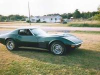1971 Corvette Survivor LS5, 454, 8 Cylinder, Turbo 400.