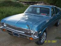 Beautiful 1971 Chevy Nova 4 Door. Rare car, havent seen