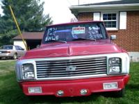 1971 chevy truck rebuilt transmission used motor put in