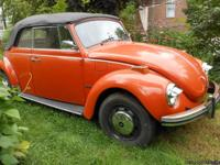 I have a 1971 Convertible VW Super Beetle Volkswagon