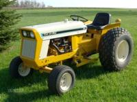 1971 cub commercial 154 riding mower 2 Wheel Dr. 60