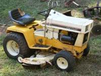 1971 International Cub Cadet Tractor Model: 128 Ser: 3*