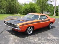 1971 Dodge Challenger 87,388 initial miles Constructed