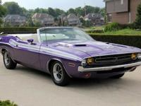1971 Dodge Challenger Convertible-For a faster respond