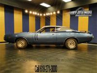 1971 blue Dodge Charger R/T for sale! This is a solid
