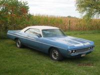 1971 Dodge Polara (VA) - $32,900 Light Blue exterior/