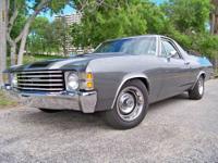 1971 Chevrolet El Camino Vin# 136801K223373 89,435