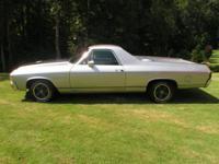 1971 Chevrolet El camino SS. Vin # 136801k165124.