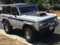 1971 Ford Bronco 3 Speed 302 with 5 inch Lift on Mickey