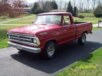 Excellent looking old Ford truck. Rebuilt 57